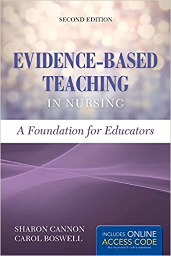amazon evidence based teaching in nursing a foundation for