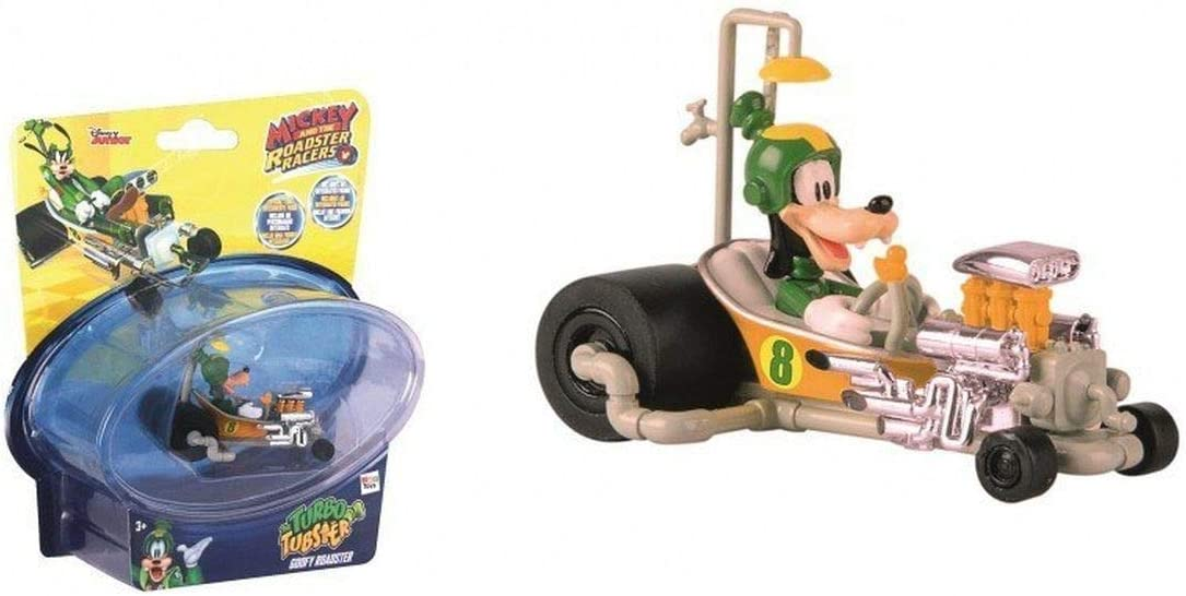 IMC Toys- Mickey Mouse Mini Vehículos: Goofy's Turbo Tubster, Multicolor (182882)
