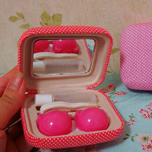 Korean Contact Lens Case Lenses Holder Travel Portable Len Glasses Box NO.03 by Kylin Express (Image #1)