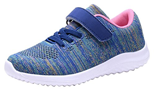 Toddler's Lightweight Sneakers Boys and Girls Cute Casual Running Athletic Shoes Multiple Colors(Toddler/Little Kids/Big Kids) (3 M US Little Kid, PURPLE) (Cute Childrens Shoes)