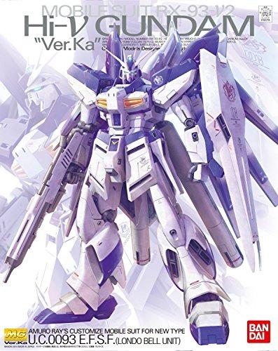 """Bandai Hobby MG 1/100 RX-93-2 Hi-Nu Gundam Ver.Ka """"Char's Counterattack"""" Model Kit"""