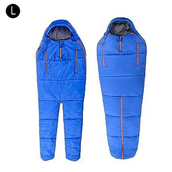 Ruier-hui Saco de Dormir humanoide, Invierno Interior Exterior portátil Ultraligero cálido Adulto Impermeable