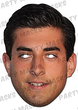 James Argent The Only Way Is Essex Celebrity Card Face Mask Wholesale