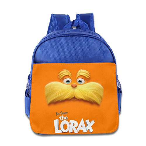 Dr Seuss The Lorax Kids School Backpack Bag