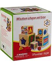لعبة صندوق تعليمي لمعرفة الاشكال والارقام للاطفال