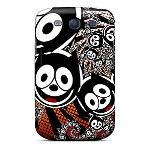 New Tpu Hard Case Premium Galaxy S3 Skin Case Cover(felix The Cat)
