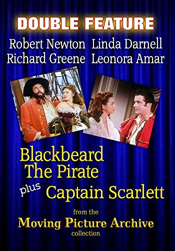 - Adventure Double Bill - Blackbeard The Pirate & Captain Scarlett