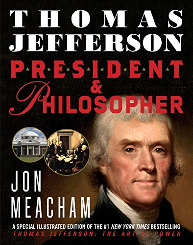 Book cover from Thomas Jefferson: President and Philosopher by Jon Meacham