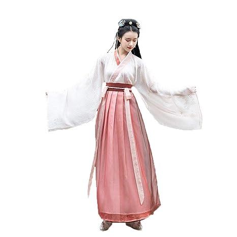 YCWY Traje Chino Antiguo para Mujer, Vestido Chino de Hua ...