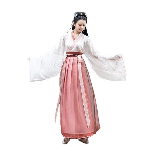 YCWY Traje Chino Antiguo para Mujer, Vestido Chino de Hua Mulan ...