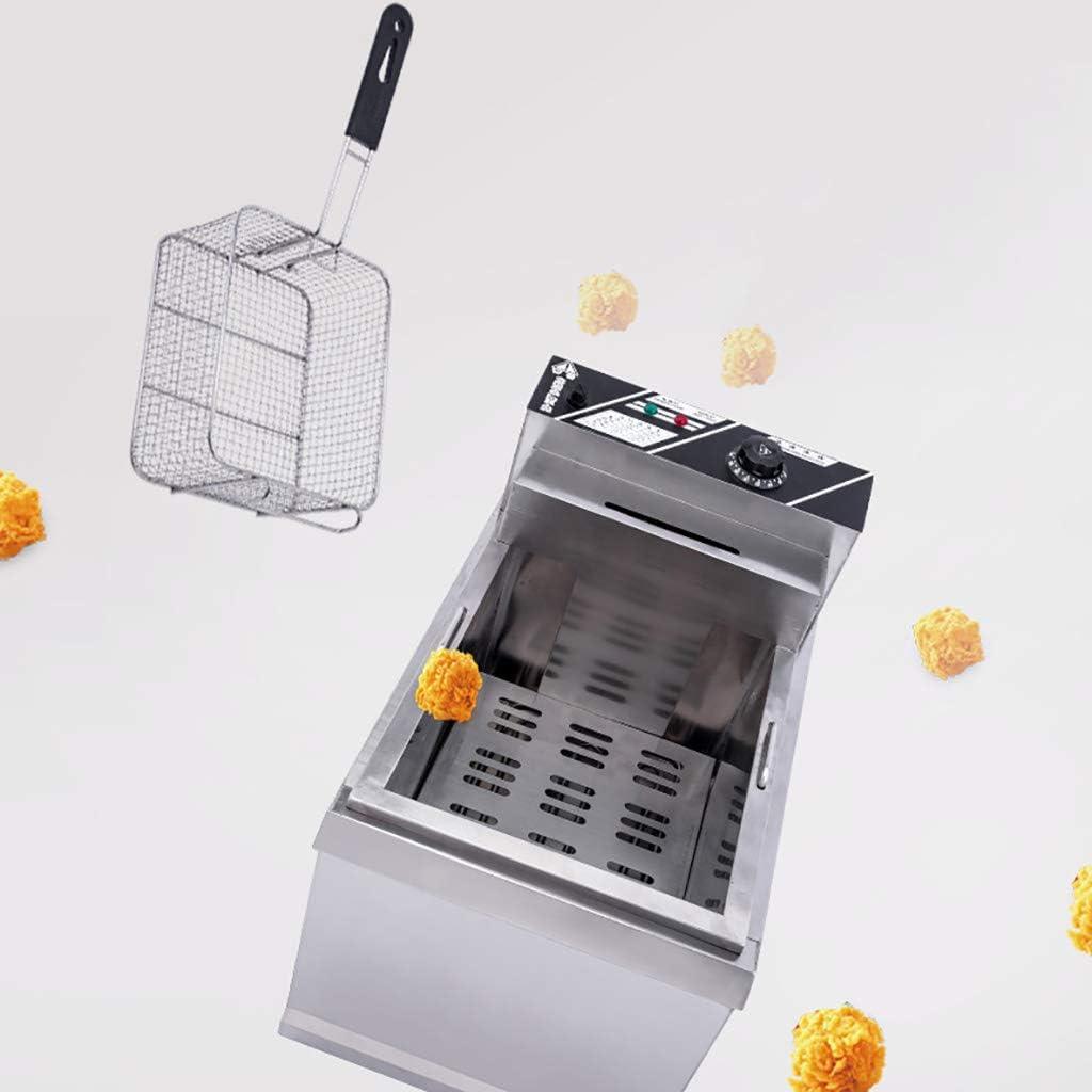 Deep Fryer Freidora Eléctrica 20L Gran Capacidad 4000W ...