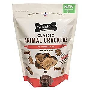Three Dog Bakery Classic Wafers Baked Dog Treats 1