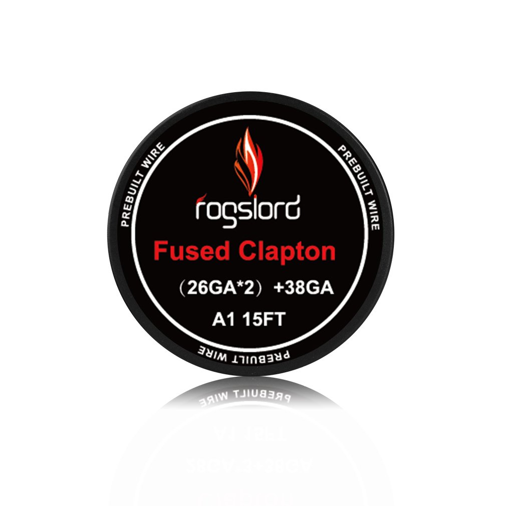 Fused Clapton Wire Kanthal A1 Resistance Wire 15 ft. AWG (26GAx2)+38GA Prebuilt Wire for Household Wiring Use by FL Wire (Image #2)