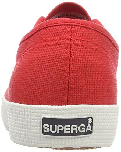 Superga Unisex-Kinder 2750 Cotbump Sneaker Rot (Red White)