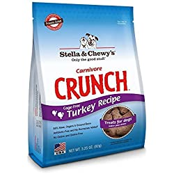 Stella & Chewy's Carnivore Crunch 3.25oz (Turkey, 2 Pack)