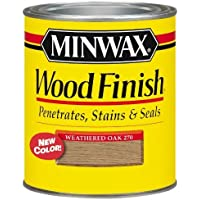 Minwax 70047 Weathered Oak Interior Stain, 1-Quart, Wood Finish by Minwax