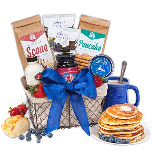 New England Breakfast Gift Basket Classic (Gift Baskets From Maine)