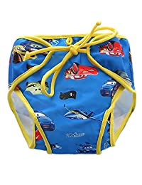Zerci Baby Swim Diapers Reuseable Washable Adjustable For Swimming Lesson & Baby