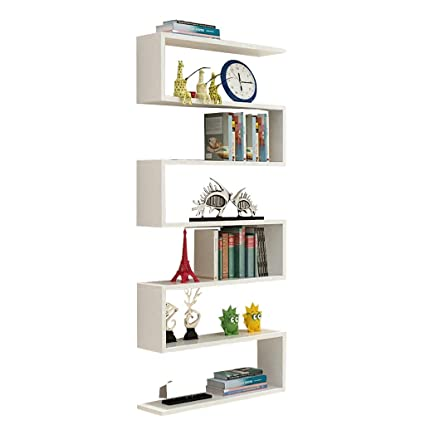 Amazon.com: Bookshelf Wall Shelf Living Room Wall Decoration TV Wall Shelf  Multi Layer Partition Bookcase Wall Rack Shelf Wall Units Bookcases:  Kitchen U0026 ...