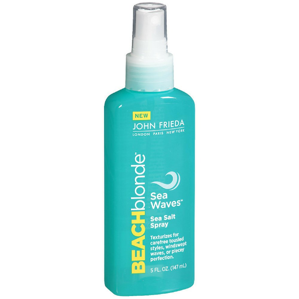 John Frieda Beach Blonde Sea Salt Spray 5oz (Sea Waves) (3 Pack)