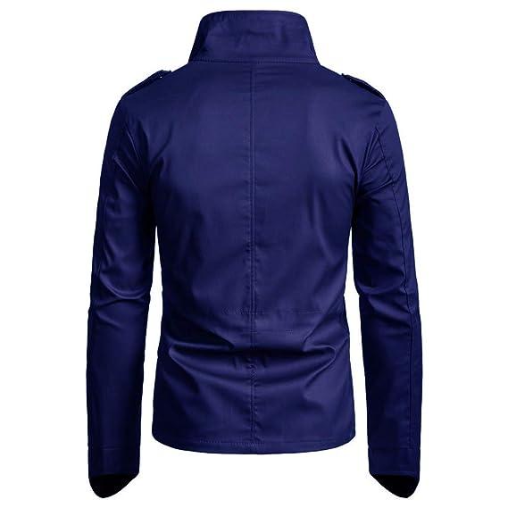Chaqueta de Hombre Otoño Invierno Trench Abrigo Overcoat Sudadera con Capucha de Manga Larga para Hombre Color Puro Jersey Blusa Amlaiworld: Amazon.es: Ropa ...