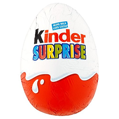 Kinder Surprise Egg 20 g (Pack of 48)