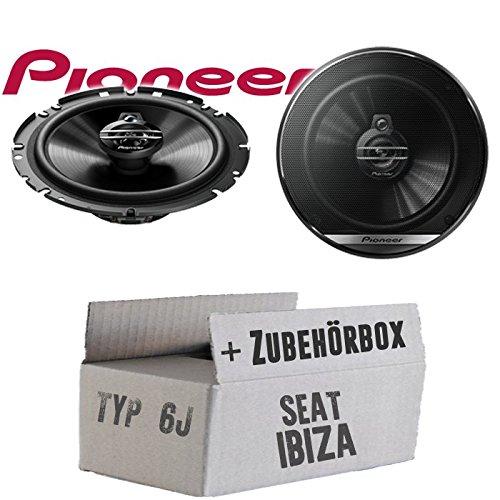 Lautsprecher Boxen Pioneer TS-G1730F JUST SOUND best choice for caraudio Einbauset f/ür Seat Ibiza 6J 16cm 3-Wege Koax Paar PKW 300WATT Koaxiallautsprecher Auto Einbausatz