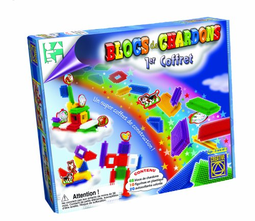 Learning Advantage - Thistle Blocks Basic - An Exciting Construction Toy