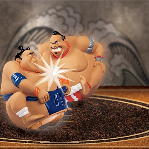 RC Sumo King Wrestlers Expressive Molded Faces And Interactive Sound Effects Add To The fun