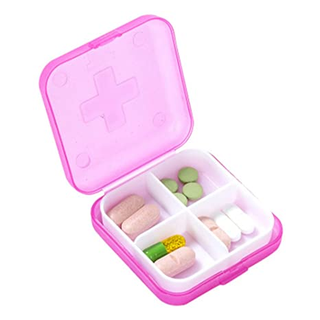 Review Mini Pill Box with