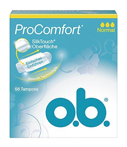 o.b. Tampon Pro Comfort normal 56er, 1er Pack (1 x 56 Stück)