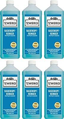 7Zwerge I Limpiador de cabezal I líquido limpiador para afeitadora ...
