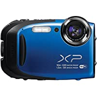 Fujifilm FinePix XP 75/XP70 16.4MP Waterproof Digital Camera with 5X Optical Zoom and 2.7-inch LCD (Blue) Review Review Image