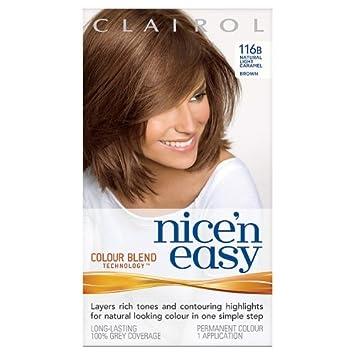Clairol Nice n Easy Hair Colourant 116B Natural Light Caramel