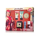 Benefit Cosmetics First Class Flirts Travel Set, 6 mini size Benefit products Boxed - Perfect for taking on airplane flights