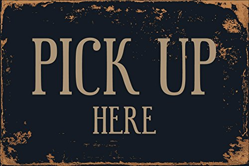 Pickup Here Led Sign - StickerPirate Pick Up Here 8