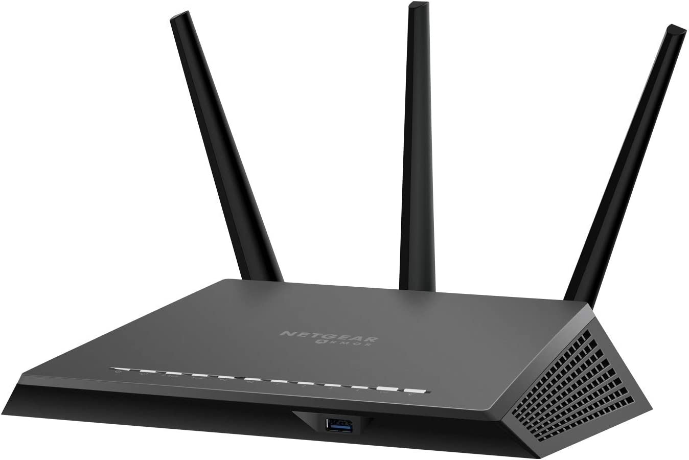 NETGEAR Nighthawk Smart WiFi Router (RS400) - AC2300 Wireless Speed (up to 2300 Mbps) | Up to 2000 sq ft Coverage & 35 Devices | 4 x 1G Ethernet and 2 USB Ports | Includes 3 Years of Armor Security
