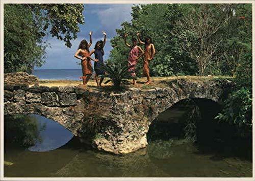 Tailafak Bridge Agat, Guam Original Vintage ()