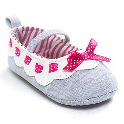 Zapatos para Bebé Yistu Bowknot Chica Andador Primera Recién ...