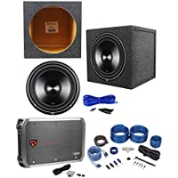 Rockford Fosgate Punch P3D2-12 12 Subwoofer+Sealed Box+750W Amplifier+Amp Kit