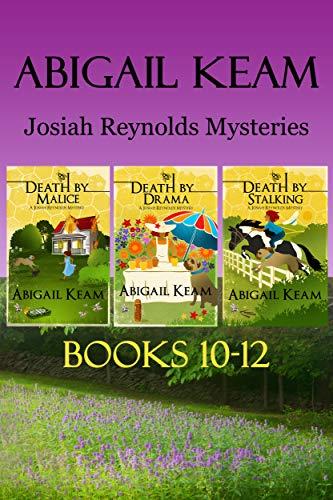 Josiah Reynolds Mysteries Box Set 4: Death By Malice, Death By Drama, Death By Stalking by [Keam, Abigail]