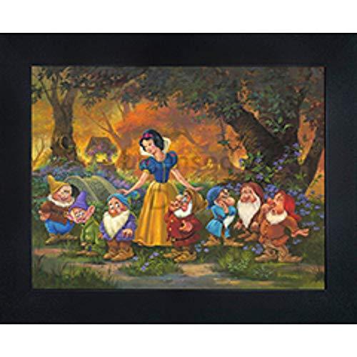 Snow White Prints - Snow White 3D Poster Wall Art Decor Framed | 14.5x18.5
