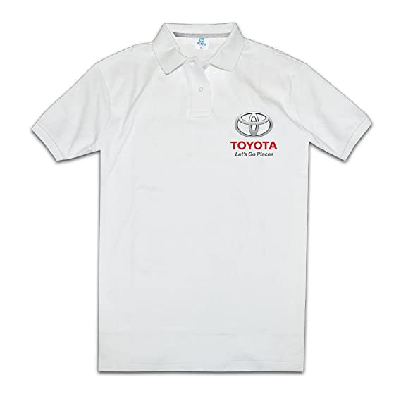 hmkolo Hombres de Toyota logo performance Golf - Polo para hombre ...