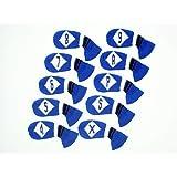 HugeLoong Knit Golf 10 Piece Iron Head Cover Set