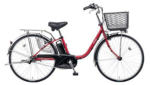 Panasonic(パナソニック) 2017年モデル ビビFX 26インチ BE-ELF63 電動アシスト自転車 専用充電器付 B01NGTUB5BR:パールクリアレッド