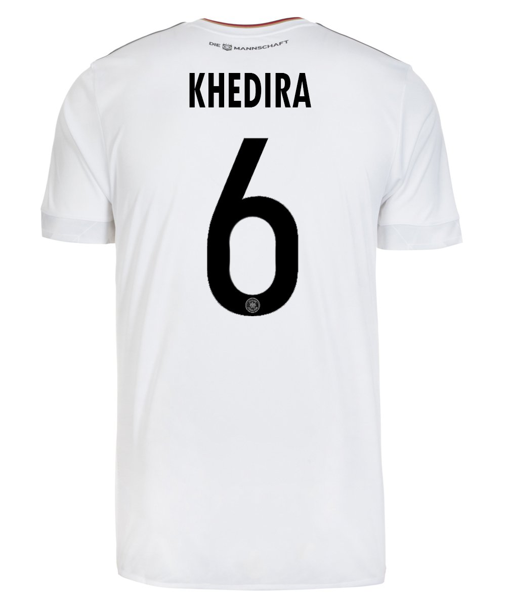 adidas KHEDIRA #6 Germany Home Men's Soccer Jersey FIFA Confederations Cup 2017/サッカーユニフォーム ドイツ ホーム用 ケディラ B01MT66RKB US - Size Large