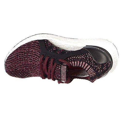 Adidas Performance Women's Ultraboost X Running Shoe, Black/Black/Mystery Ruby, 6.5 Medium US