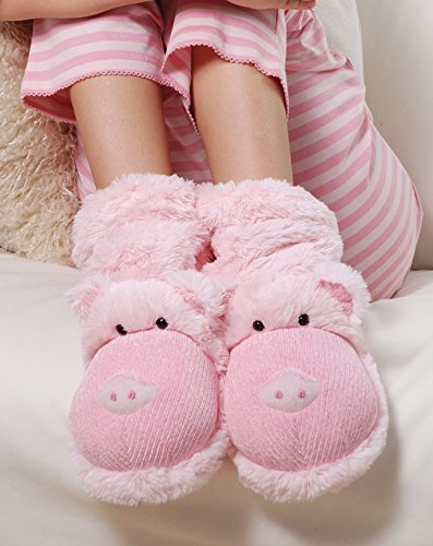 Aroma Home diversión para los pies Zapatillas botas Rosa
