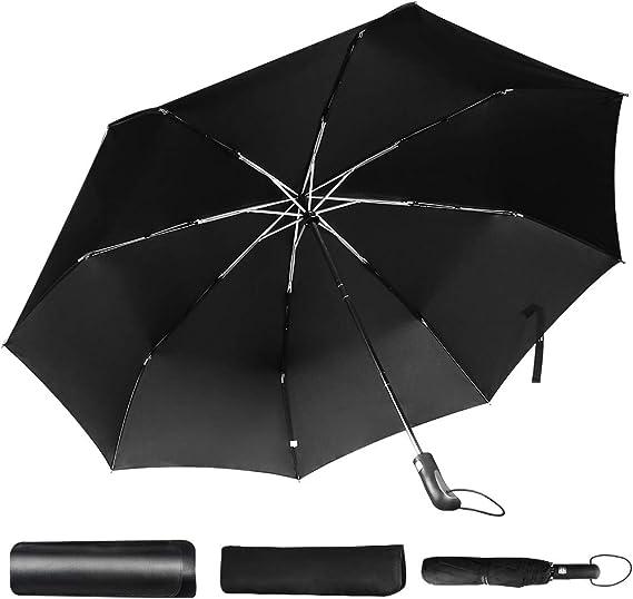 Auto Open Close Hipster Style Animals Fashionable Travel Umbrella Automatic Folding Umbrella Compact 46 Inch Rain Umbrella for Men Women