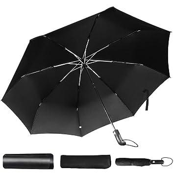 Amazon.com: Paraguas plegable de 54 pulgadas con apertura ...